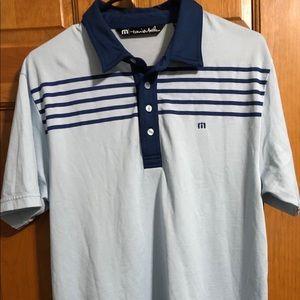 Travis Mathew - Golf Polo - Size Medium - Blue